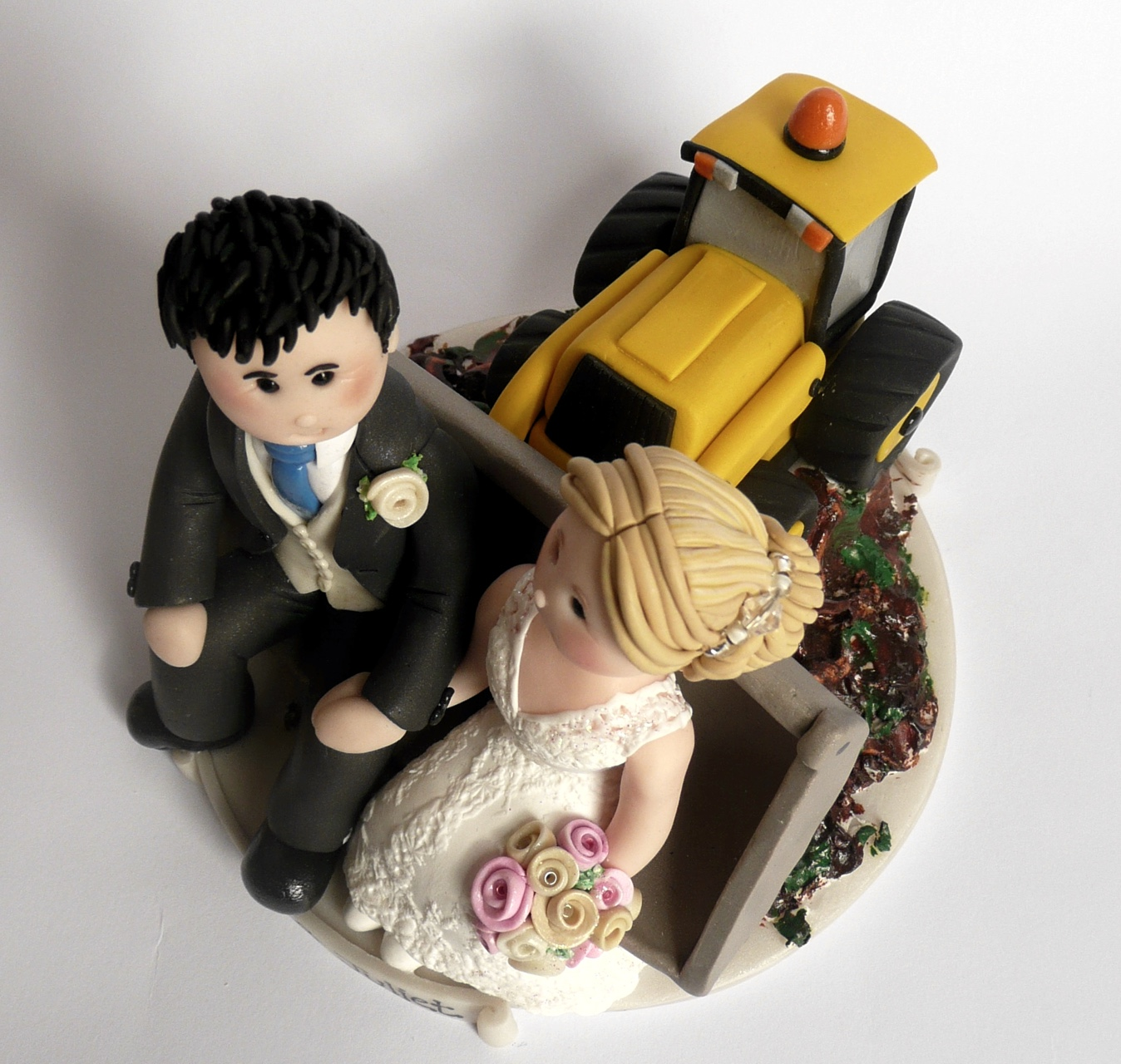Digger Cake Topper Uk